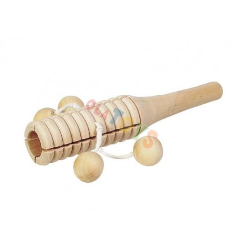 TONBLOCK drewniany instrument z kuleczkami ! GOKI
